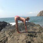 Spanje Marianne yoga houding 1